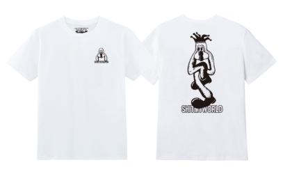 SHINKNOWNSUKE & COMMUNE Shit My World T-shirts